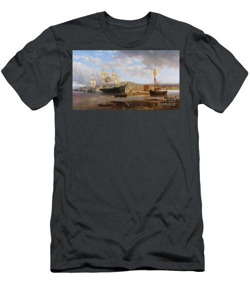 Bristol Harbour Men's T-Shirt (Athletic Fit)