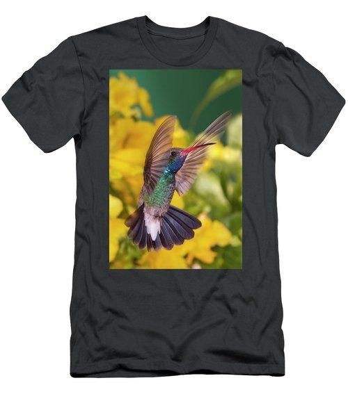 Broad-bill Pose Men's T-Shirt (Athletic Fit)