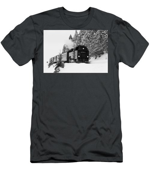 Brockenbahn, Harz Men's T-Shirt (Athletic Fit)