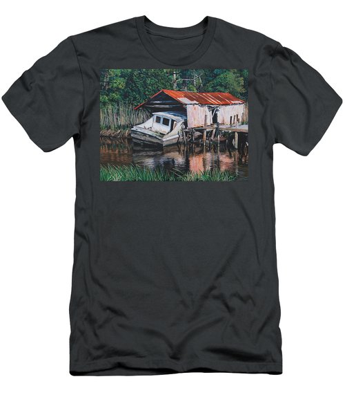 Broken Boat Men's T-Shirt (Athletic Fit)