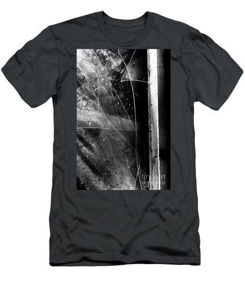 Broken Glass Window Men's T-Shirt (Athletic Fit)