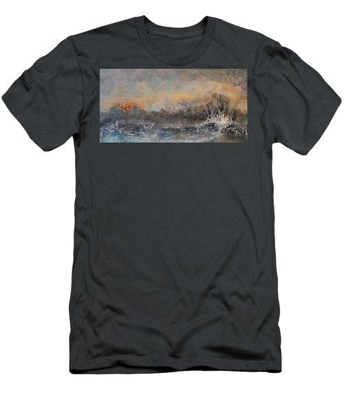 Broken Men's T-Shirt (Slim Fit) by Theresa Marie Johnson