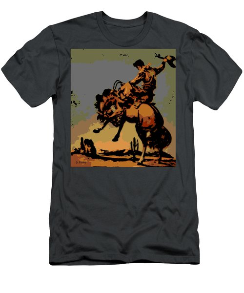 Bronc Rider Men's T-Shirt (Athletic Fit)
