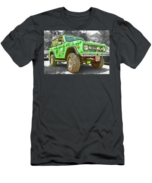 Men's T-Shirt (Athletic Fit) featuring the photograph Bronco 1 by Daniel Adams