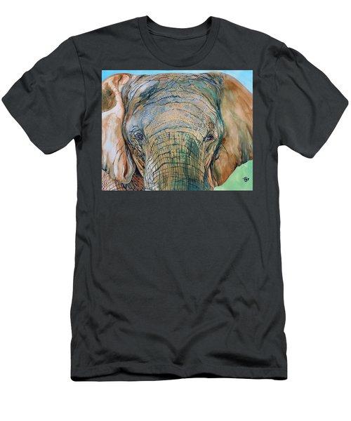 Bronze Elephant Men's T-Shirt (Athletic Fit)