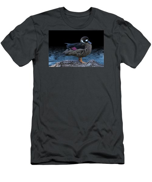 Bronze-winged Duck Men's T-Shirt (Athletic Fit)