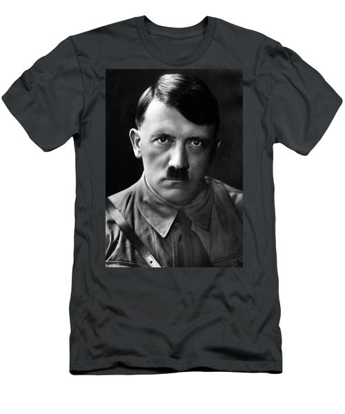 Brooding Portrait Of Adolf Hitler Heinrich Hoffman Photo Circa 1935 Men's T-Shirt (Athletic Fit)
