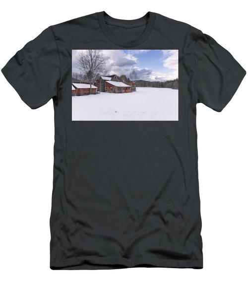 Brookline Winter Men's T-Shirt (Slim Fit) by Tom Singleton