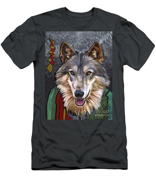 Brother Wolf Men's T-Shirt (Athletic Fit)