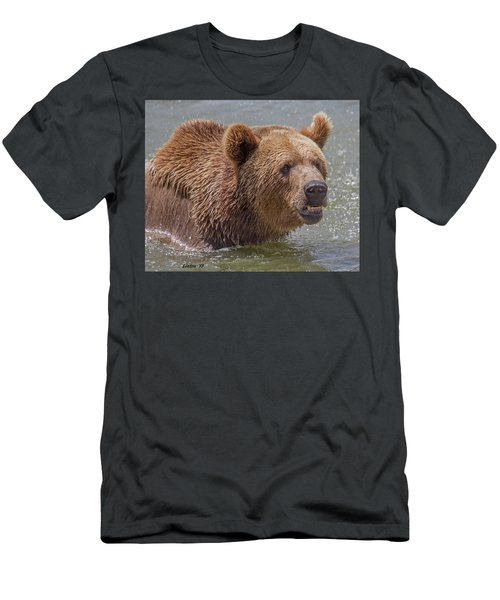 Brown Bear 10 Men's T-Shirt (Athletic Fit)