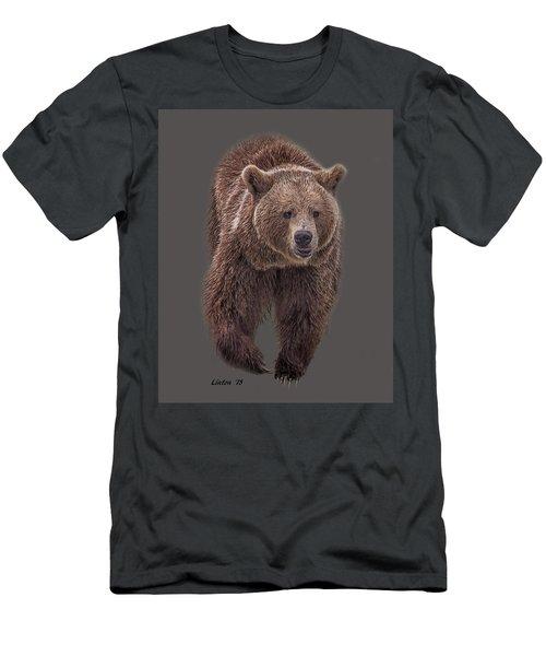 Brown Bear 8   Men's T-Shirt (Athletic Fit)