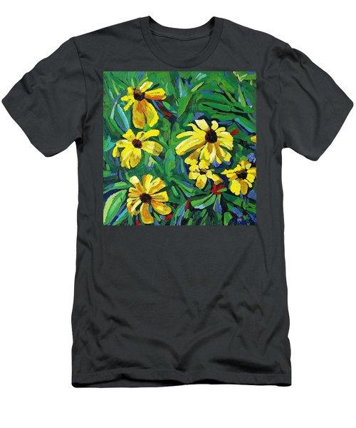 Brown-eyed Susans Men's T-Shirt (Athletic Fit)