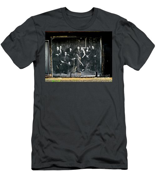 Bruce And The E Street Band Men's T-Shirt (Athletic Fit)