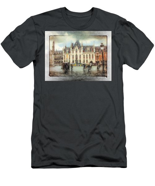 Bruges, Belgium Men's T-Shirt (Athletic Fit)