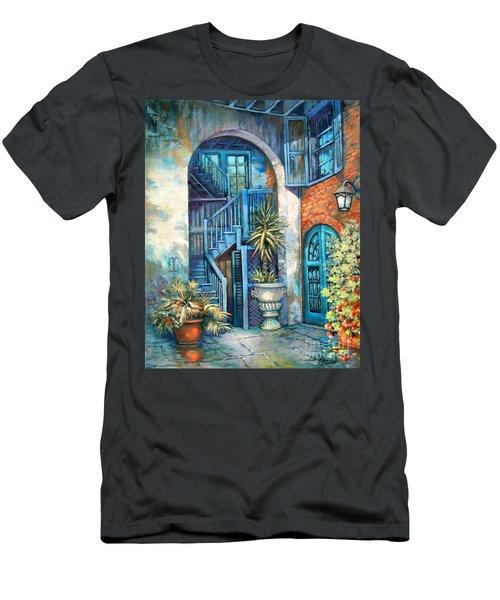 Brulatour Courtyard Men's T-Shirt (Athletic Fit)