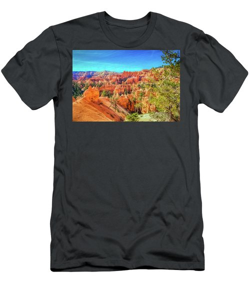 Men's T-Shirt (Athletic Fit) featuring the photograph Bryce Canyon Artistry by John M Bailey