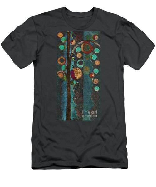 Bubble Tree - Spc02bt05 - Right Men's T-Shirt (Slim Fit) by Variance Collections