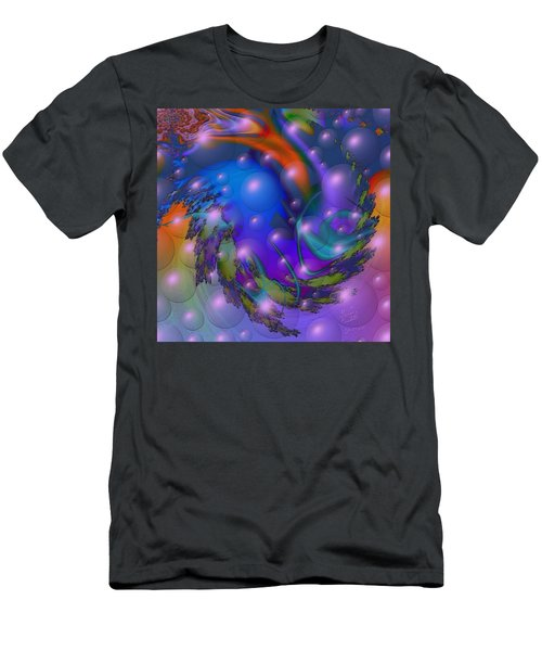 Bubbling Over With Enthusiasim Men's T-Shirt (Slim Fit) by Kevin Caudill