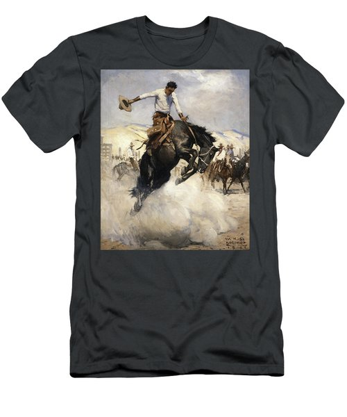 Bucking Men's T-Shirt (Athletic Fit)