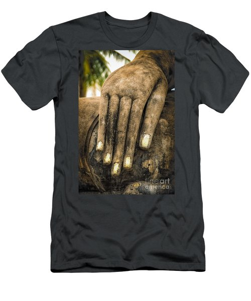 Buddha Hand Men's T-Shirt (Athletic Fit)