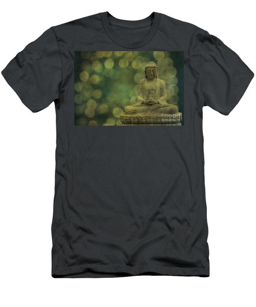 Buddha Light Gold Men's T-Shirt (Athletic Fit)
