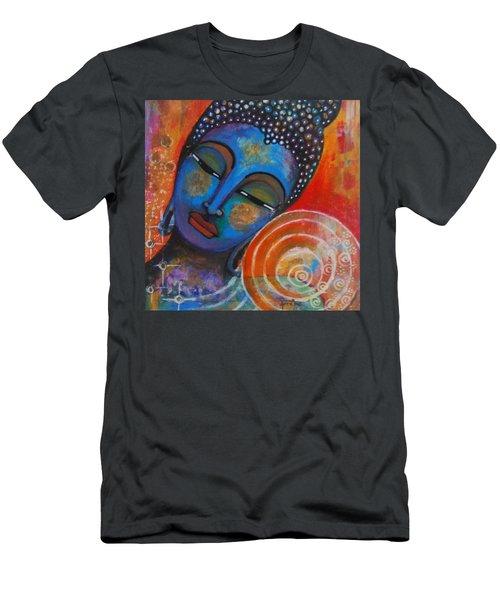 Buddha Men's T-Shirt (Slim Fit) by Prerna Poojara