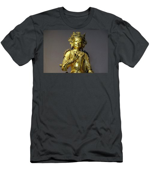 Men's T-Shirt (Athletic Fit) featuring the photograph Buddha Protection by August Timmermans