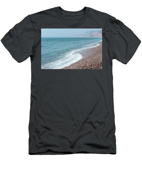 Budleigh Seascape II Men's T-Shirt (Athletic Fit)