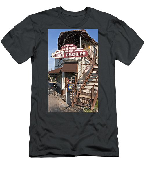 Bud's Broiler New Orleans Men's T-Shirt (Slim Fit) by Kathleen K Parker