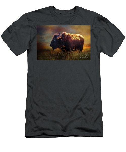 Buffalo Cow Men's T-Shirt (Athletic Fit)