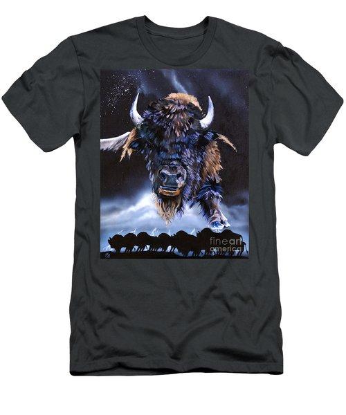 Buffalo Medicine Men's T-Shirt (Athletic Fit)
