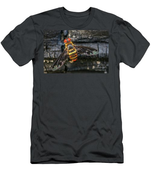 Bug With Red Eyes Men's T-Shirt (Athletic Fit)