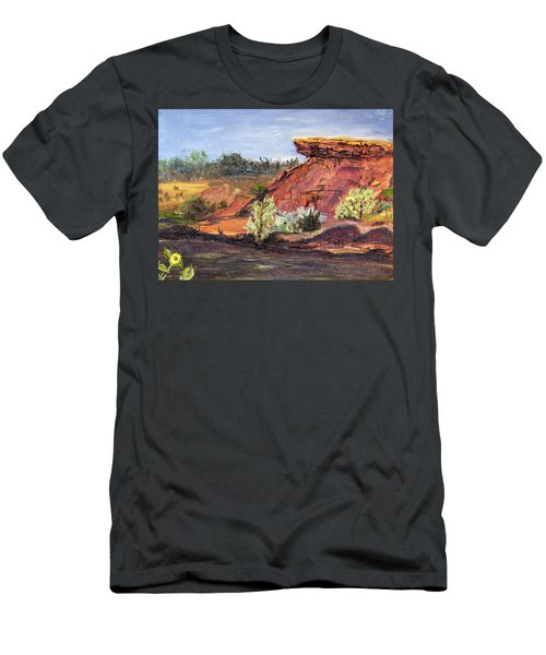Bullock Reservoir Men's T-Shirt (Athletic Fit)