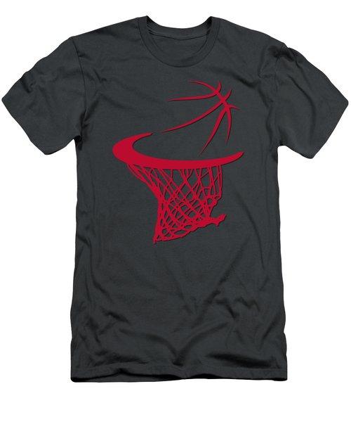 Bulls Basketball Hoop Men's T-Shirt (Slim Fit)