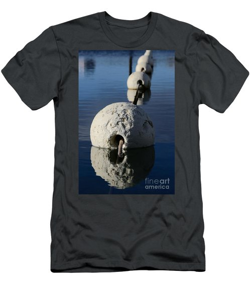 Men's T-Shirt (Athletic Fit) featuring the photograph Buoy In Detail by Stephen Mitchell