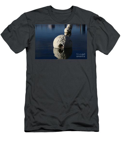 Men's T-Shirt (Athletic Fit) featuring the photograph Buoy Upfront by Stephen Mitchell