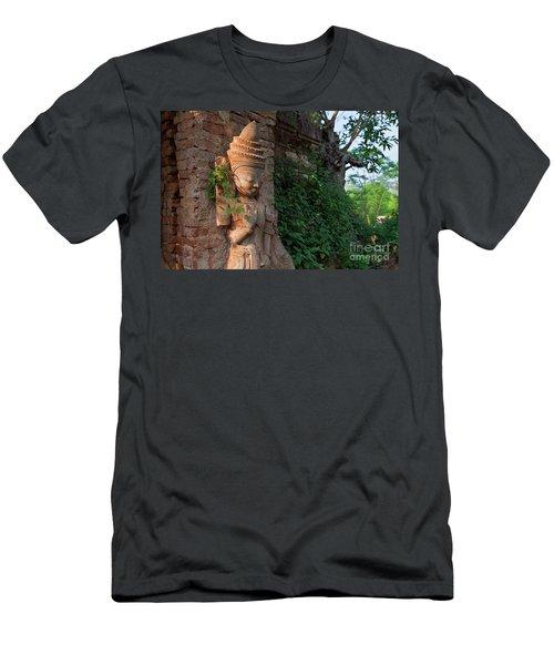 Burma_d195 Men's T-Shirt (Slim Fit) by Craig Lovell