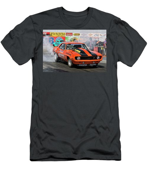 Burn Out Cooper Racing Men's T-Shirt (Athletic Fit)