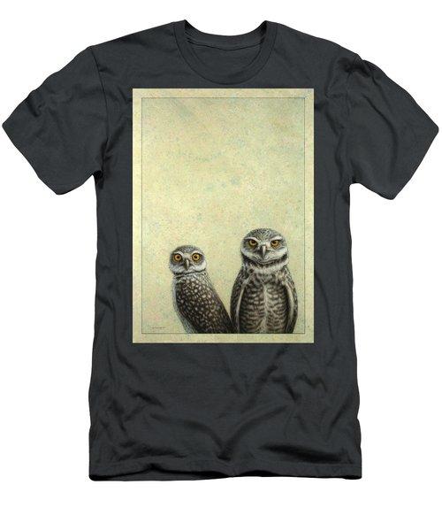 Burrowing Owls Men's T-Shirt (Athletic Fit)