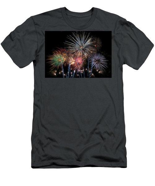 Burst Men's T-Shirt (Athletic Fit)