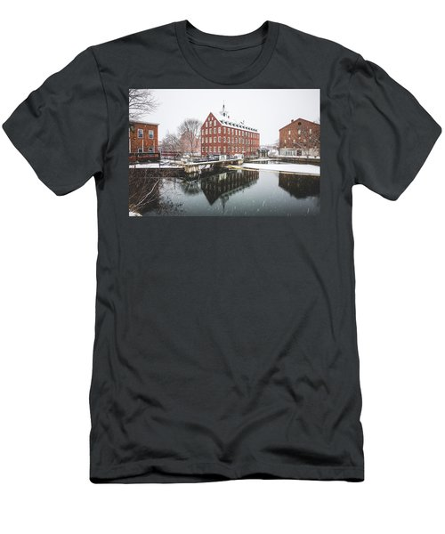 Men's T-Shirt (Slim Fit) featuring the photograph Busiel-seeburg Mill by Robert Clifford