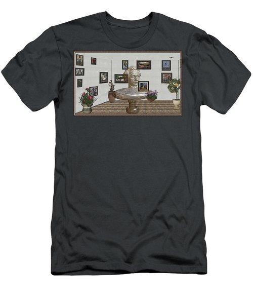 Bust Of The Spirit Of Einstein 1 Men's T-Shirt (Athletic Fit)