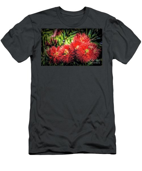 Busy Bees  Men's T-Shirt (Athletic Fit)