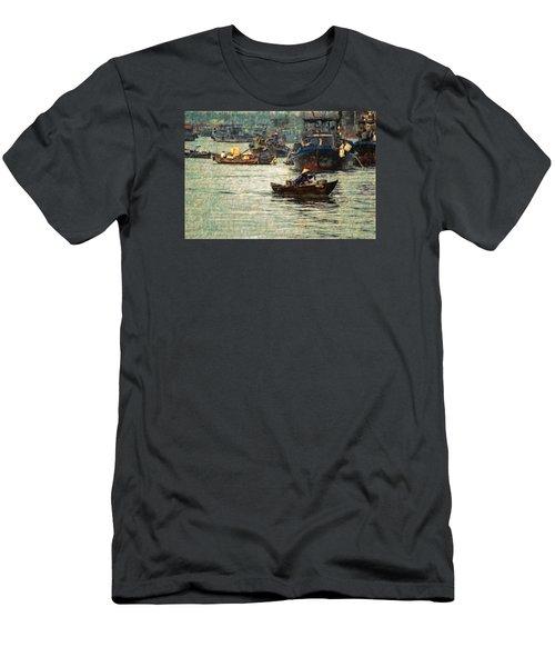 Busy Hoi Ahn Dawn Men's T-Shirt (Slim Fit) by Cameron Wood