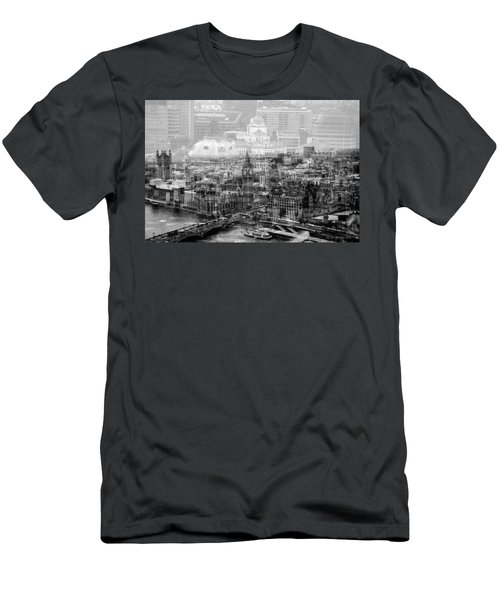 Busy London Men's T-Shirt (Slim Fit) by Karen McKenzie McAdoo