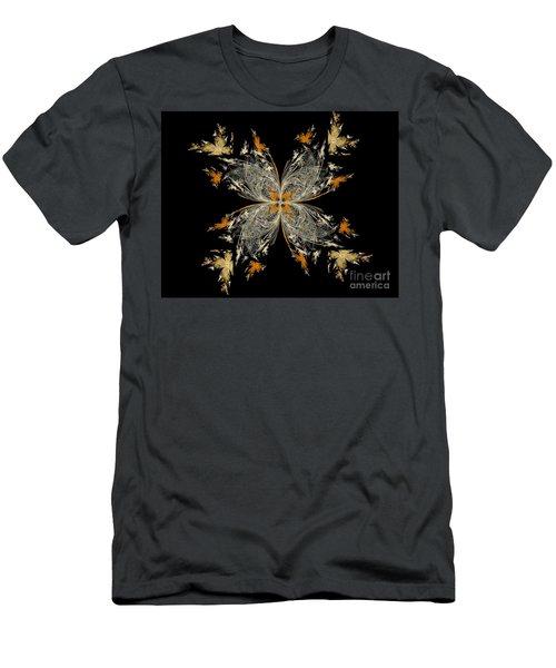 butterfly - Digital Art Men's T-Shirt (Athletic Fit)