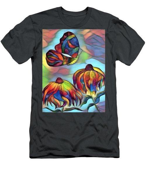 Butterflies For Children 1 Men's T-Shirt (Athletic Fit)