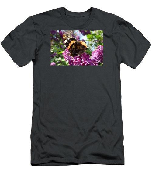 Butterfly 7 Men's T-Shirt (Slim Fit) by Jean Bernard Roussilhe