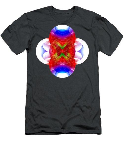 Butterfly Effect Men's T-Shirt (Slim Fit) by Iowan Stone-Flowers