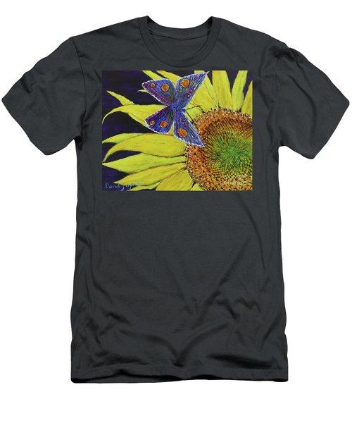 Butterfly Haven Men's T-Shirt (Slim Fit) by David Joyner